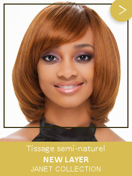 Tissage semi-naturel New Layer Janet Collection