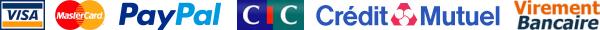 paiement sécurisé paypal crédit mutuel CIC virement bancaire